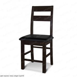 Деревянный стул ВМК-Шале Артур с мягким сиденьем