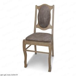 Деревянный стул ВМК-Шале Богатэль с мягким сиденьем