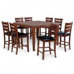 Деревянный стул ВМК-Шале Элис с мягким сиденьем