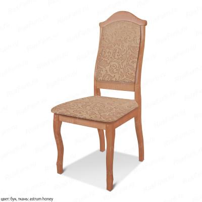 Деревянный стул ВМК-Шале Геральт с мягким сиденьем