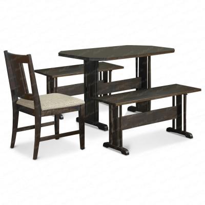 Деревянный стул ВМК-Шале Грэйс с мягким сиденьем