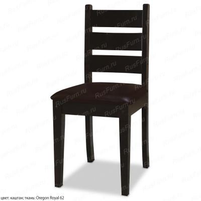 Деревянный стул ВМК-Шале Харви с мягким сиденьем