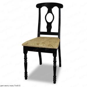 Деревянный стул ВМК-Шале Лукас с мягким сиденьем
