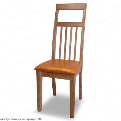Деревянный стул ВМК-Шале Мэдисон с мягким сиденьем
