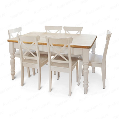 Комбинированный деревянный стул ВМК-Шале Мейсон