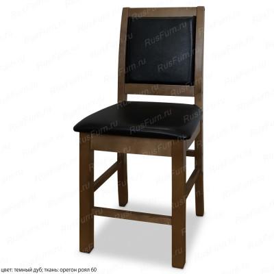 Деревянный стул ВМК-Шале Стэнли с мягким сиденьем