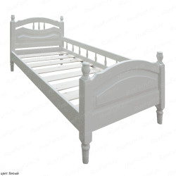 Детская кровать ВМК-Шале «Исида с бортиком» 80 см