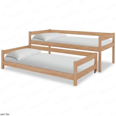 Детская кровать из массива сосны ВМК-Шале «Юнис» 70 см