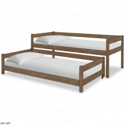 Детская кровать из массива берёзы ВМК-Шале «Юнис» 70 см