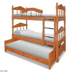 Двухъярусная кровать ВМК-Шале «Альбион» 80 см