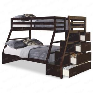 Двухъярусная кровать ВМК-Шале «Эрика » 90 см