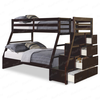Двухъярусная кровать ВМК-Шале «Эрика » 80 см