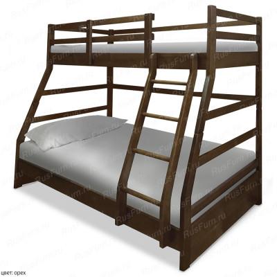 Двухъярусная кровать ВМК-Шале «Хостел» 80 см