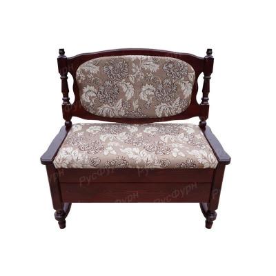 Прямой кухонный диван ВМК-Шале Картрайд 100 см с ящиком