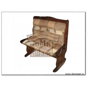 Прямой кухонный диван ВМК-Шале Себастьян с баром