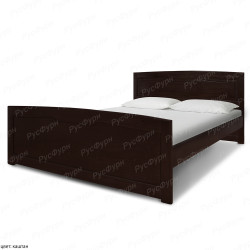 Кровать из массива сосны ВМК-Шале Ариэль 1 180 см
