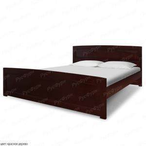 Кровать из массива сосны ВМК-Шале Ариэль 1 140 см
