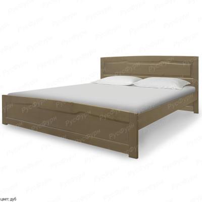 Кровать из массива сосны ВМК-Шале Ариэль 2 160 см