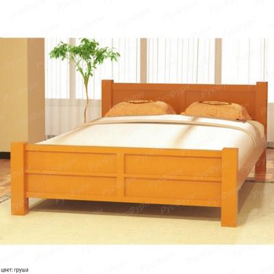 Кровать из массива сосны ВМК-Шале Ассоль 180 см