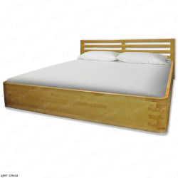 Кровать из массива сосны ВМК-Шале Аура 90 см