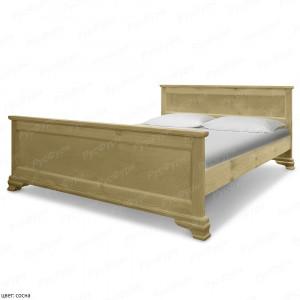 Кровать из массива сосны ВМК-Шале Авангард 140 см
