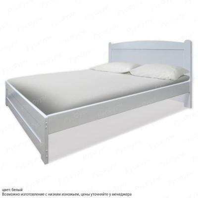Кровать из массива сосны ВМК-Шале Березка 160 см