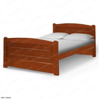 Кровать из массива сосны ВМК-Шале Березка 140 см