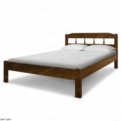 Кровать из массива сосны ВМК-Шале Бюджет 2 140 см