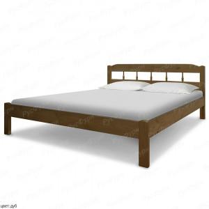 Кровать из массива сосны ВМК-Шале Бюджет 2 160 см