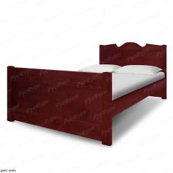 Кровать из массива сосны ВМК-Шале Дубрава 120 см