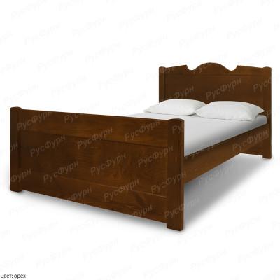 Кровать из массива сосны ВМК-Шале Дубрава 180 см
