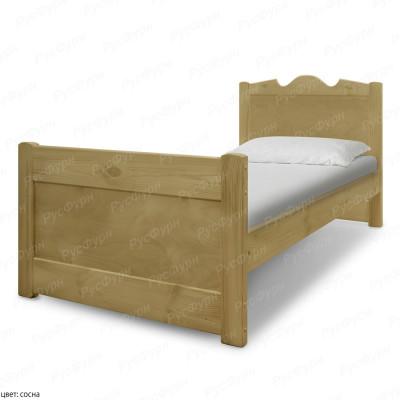 Кровать из массива сосны ВМК-Шале Дубрава 90 см