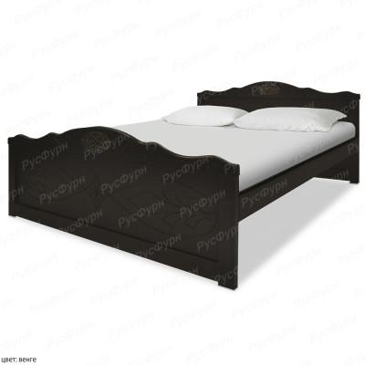 Кровать из массива сосны ВМК-Шале Элика 160 см