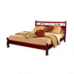 Кровать из массива сосны ВМК-Шале Емеля 180 см
