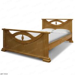 Кровать из массива сосны ВМК-Шале Эврика 140 см