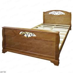 Кровать из массива сосны ВМК-Шале Эврос 2 90 см