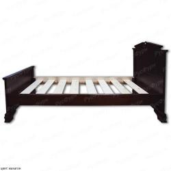 Кровать из массива сосны ВМК-Шале Фараон 140 см