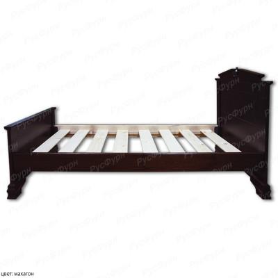 Кровать из массива сосны ВМК-Шале Фараон 160 см