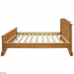 Кровать из массива сосны ВМК-Шале Фараон 180 см