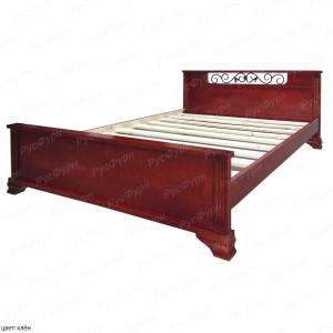 Кровать из массива сосны Феникс шириной 140 см