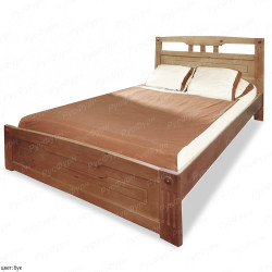 Кровать из массива сосны ВМК-Шале Флирт 2 90 см