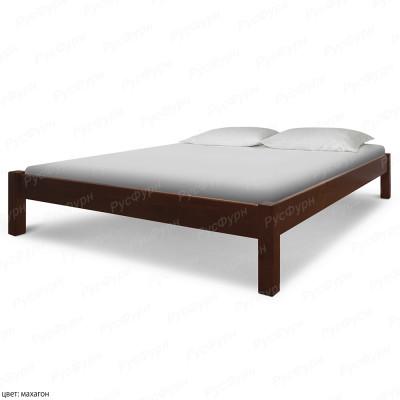 Кровать из массива сосны ВМК-Шале Генрих 180 см