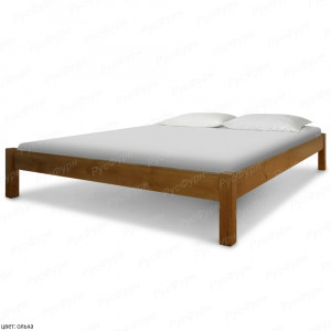 Кровать из массива сосны ВМК-Шале Генрих 140 см