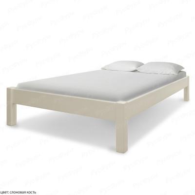 Кровать из массива сосны ВМК-Шале Генрих 120 см