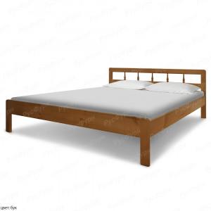 Кровать из массива сосны Икея шириной 160 см