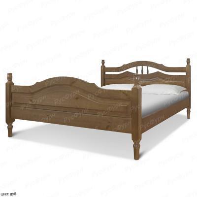 Кровать из массива сосны ВМК-Шале Исида 140 см