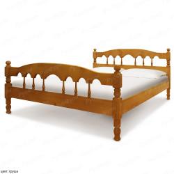 Кровать из массива сосны ВМК-Шале Капелла 140 см