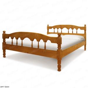Кровать из массива сосны ВМК-Шале Капелла 180 см
