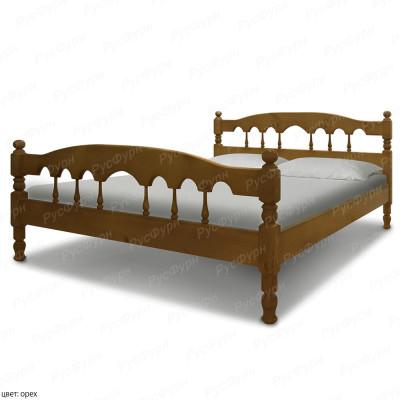 Кровать из массива сосны ВМК-Шале Капелла 160 см