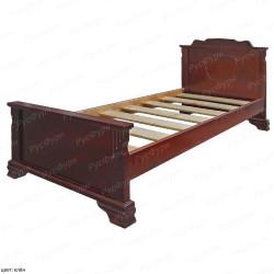 Кровать из массива сосны ВМК-Шале Клеопатра 90 см